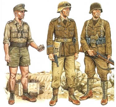 Uniforme del Africa Korps